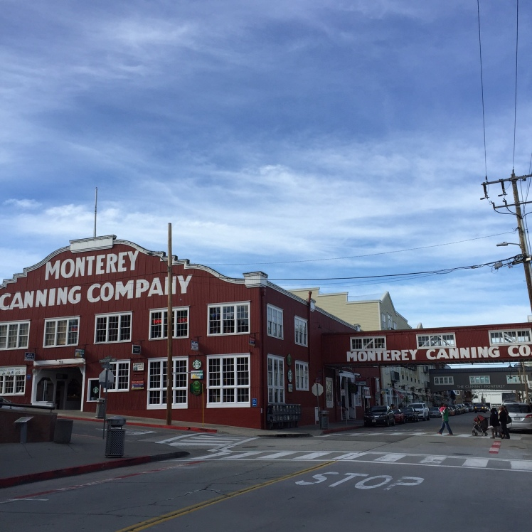Monterey California Cannery Row