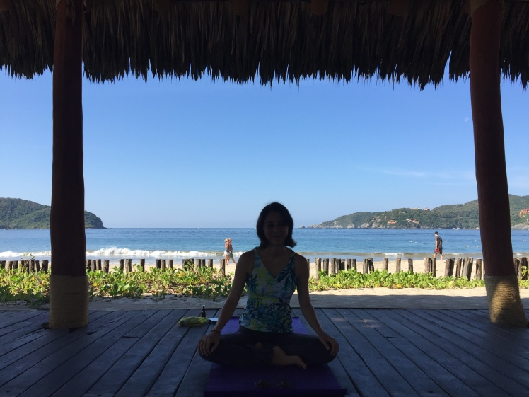 Viceroy Zihautanejo yoga