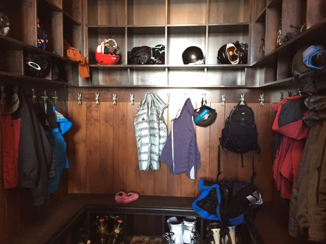 The Tenth Vail Colorado Coat Room