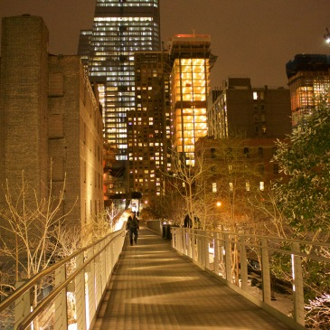 High Line NYC Chelsea Night