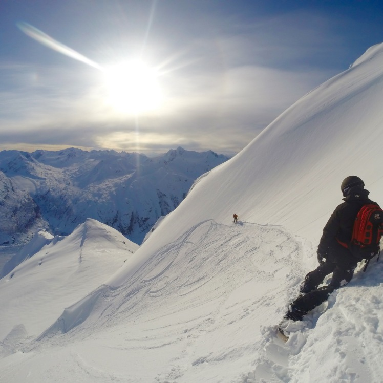 Valdez Alaska heli ski H20 Guides Chuggach mountains