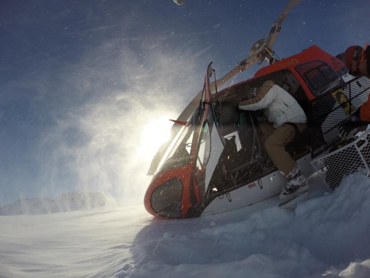 Heli skiing Alaska Valdez H20 Guides Chuggach Mountains