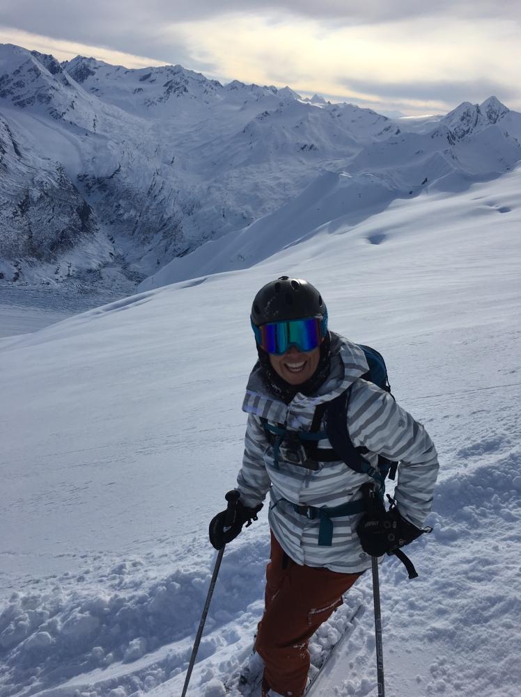 Heli Ski Alaska Chuggach Mountains