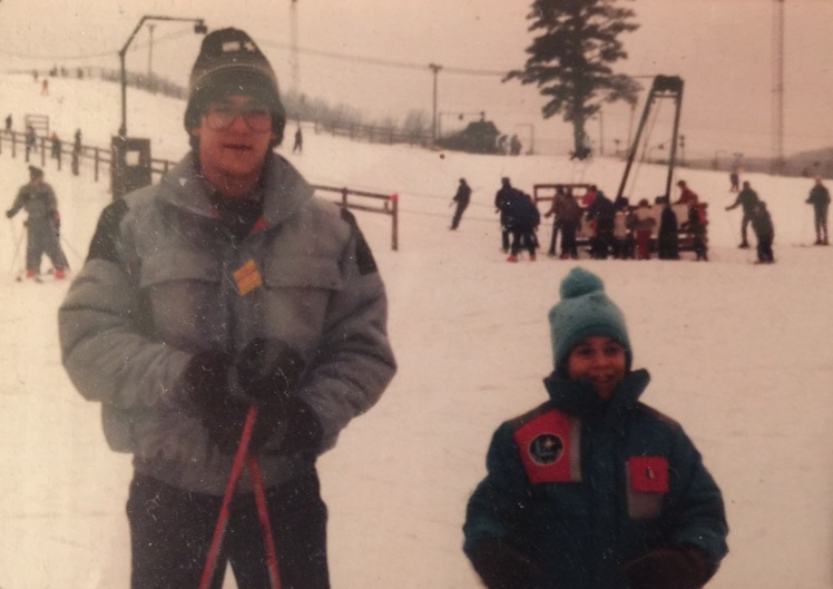 Canadian Lakes Michigan ski resort 1987