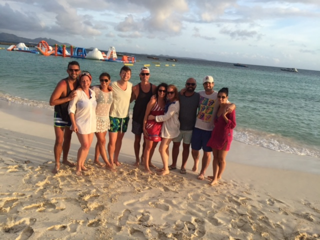 Anguilla water obstacle course