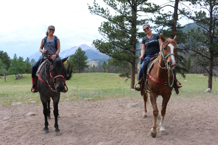 Rocky Mountain National Park horseback riding