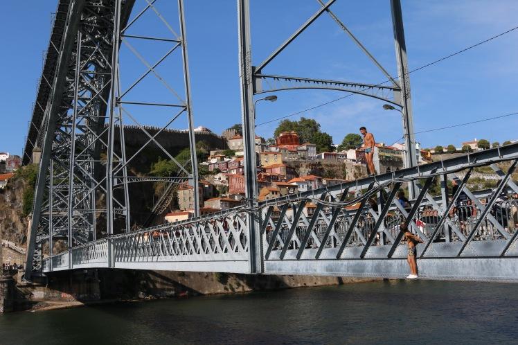 Ponte de Dom Luis Bridge Porto Portugal