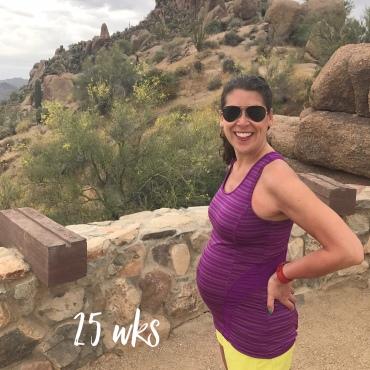 Babymoon Scottsdale 25 weeks pregnant