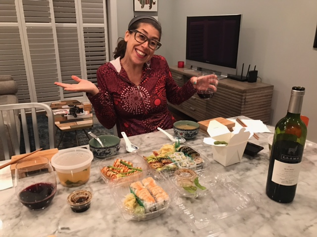 Sushi and wine while pregnant