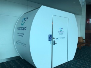 Mamava breastfeeding breastpumping pods Orlando airport
