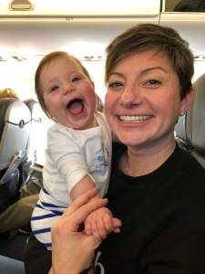 first plane trip travel with babies